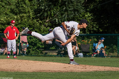 The Cotuit Kettleers pitcher, Cotuit, Cape Cod, USA