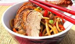 "Roast Duck – Part One – ""Duck With Dirty Noodles"""