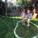 sprinkler with lucy
