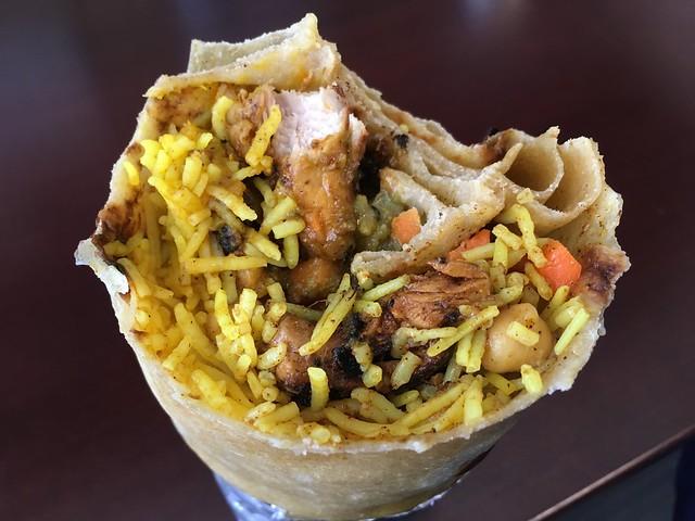 Chicken burrito - Dabba