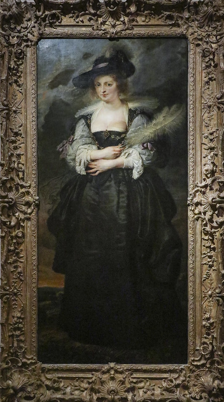 Peter Paul Rubens, Portrait of Helena Fourment, Flanders, ca. 1630-32