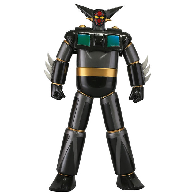 海洋堂 Sofubi Toy Box Hi-lLINE005 「蓋特1號(邪惡配色版)」!ソフビトイボックス ゲッター1(Evil Color)