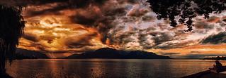Lac Léman Summer Evening