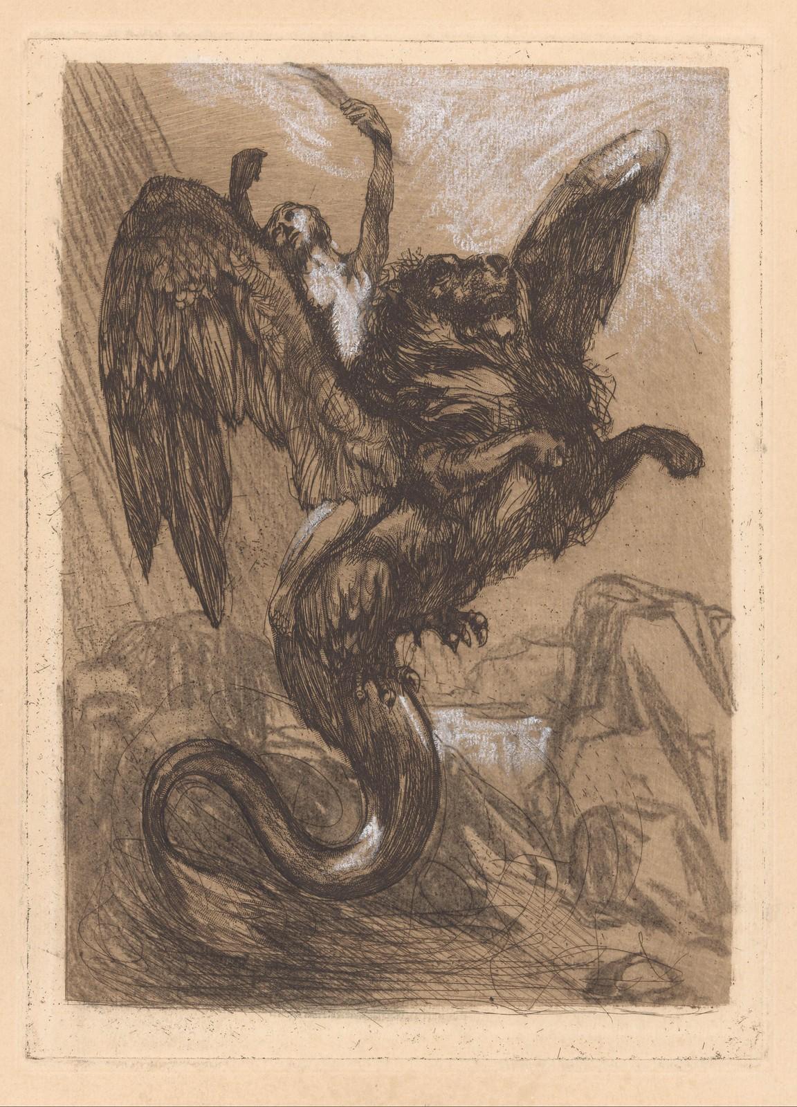 Johannes Josephus Aarts - Winged  Chimera