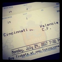 IT'S INTERNATIONAL FRIENDLY MATCH DAY!!! @fccincinnati v. @valenicacf_en #CINvVAL #RiseTogether :grinning::soccer:️:heart: