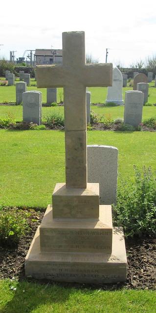 HMS Barham Memorial, Lyness War Cemetery