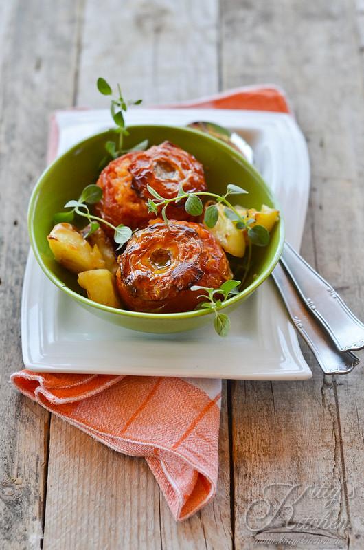 Romanità a tavola: Pomodori con il riso