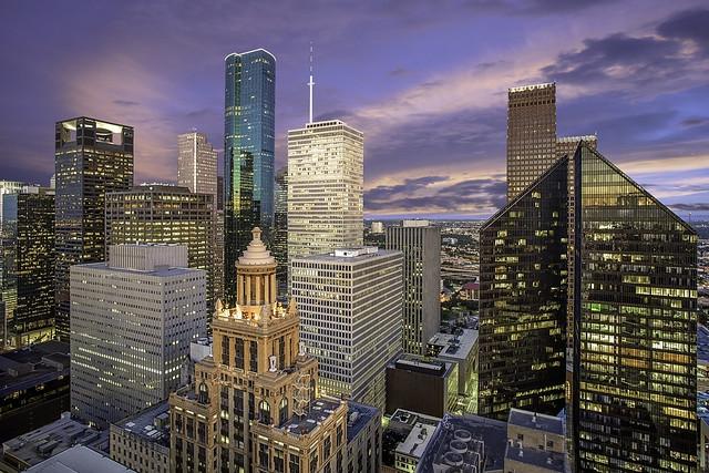 Houston Skyline - Western Downtown