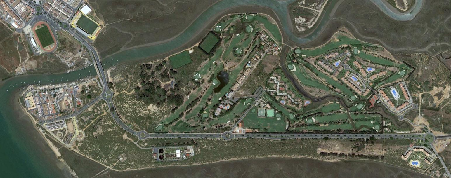 campo de golf isla canela, huelva, seguro que carlos cano anda detrás, después, urbanismo, planeamiento, urbano, desastre, urbanístico, construcción, rotondas, carretera