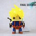 """This new brickheadz concept used Final Fantasy 7 (one of the famous RPG game in the PS1 century) """"Cloud"""" as the character and created a theme called """"Final Brickheadz VII"""" as a count down of my brickheadz development. Several audience requested a bigger s by benfong1"""