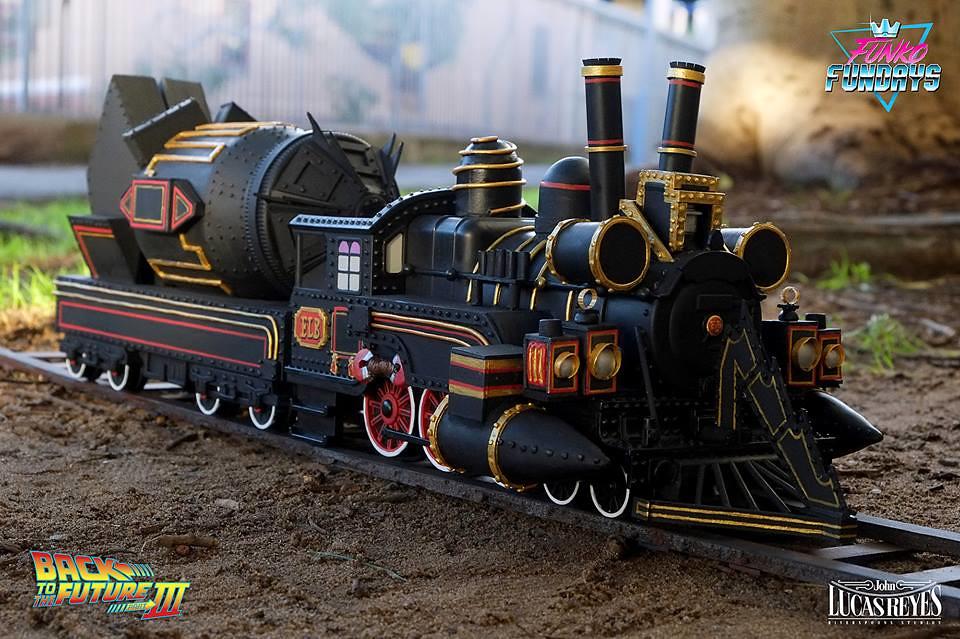給你錢,你快出!!FUNKO RIDES 系列【布朗博士與時光火車】回到未來III Fundays 大賽第四名!!