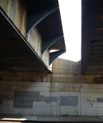 Abandoned LIRR platform