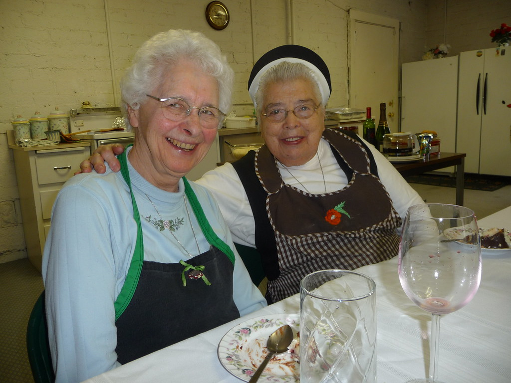 Sister Alice and Sister Silvia Troncoso.