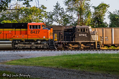 BNSF 8427 | SD70ACe | NS Memphis District