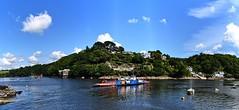 Bodinnick Ferry Panorama. Nikon D3100. DSC_0413-0417.
