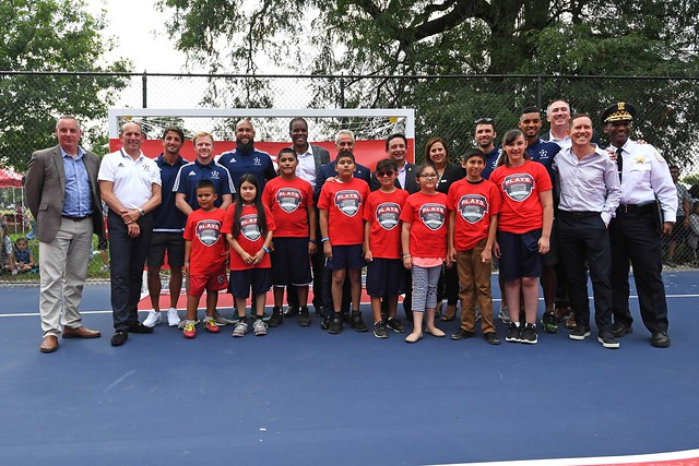 MLS All-Star Community Day and Mini-Pitch Dedication