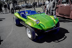 Bright Green Dune Buggy