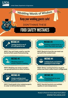 Wedding Food Safety Mistakes
