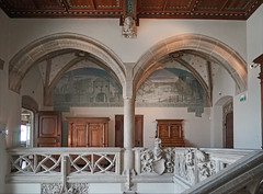 Le palier du premier étage du musée historique de Haguenau