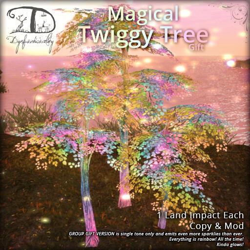 Magical Twinkling Tree - TeleportHub.com Live!