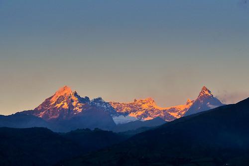 cielo sky glaciar nieve andes atardecer sol sunset snow nevado volcano volcán altar ecuador
