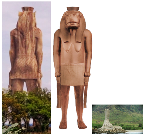 La grande statue de l'île de Lost . 36217800496_ce5694a054_o