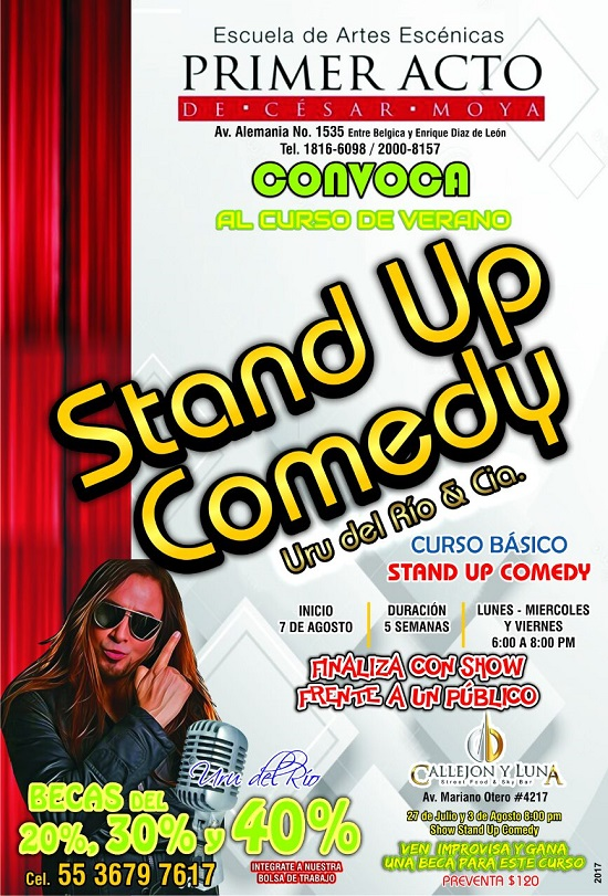 2017.08.07 CURSO STAND UP COMEDY