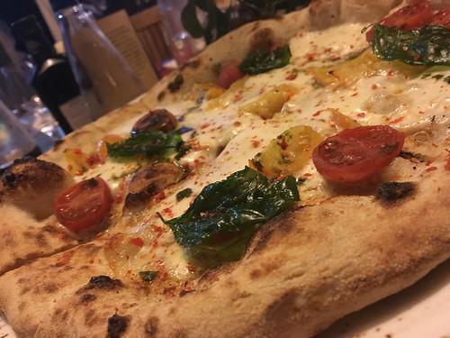 Pizza Peace a Pietrasanta 2017 contaminazioni di pizza