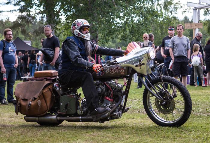 Joutsa Chopper Show 2017 Harley Davidson vanha moottoripyörä biker (1 of 1)