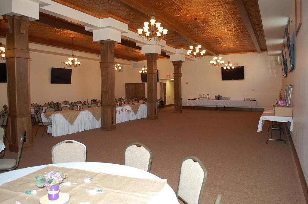 Wedding Reception Decorated