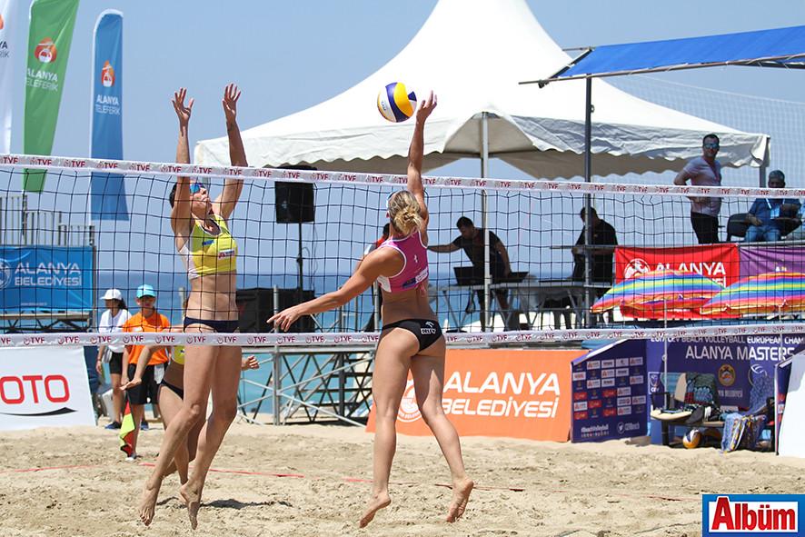 2017 CEV Bayanlar Plaj Voleybolu Avrupa Şampiyonası Alanya4