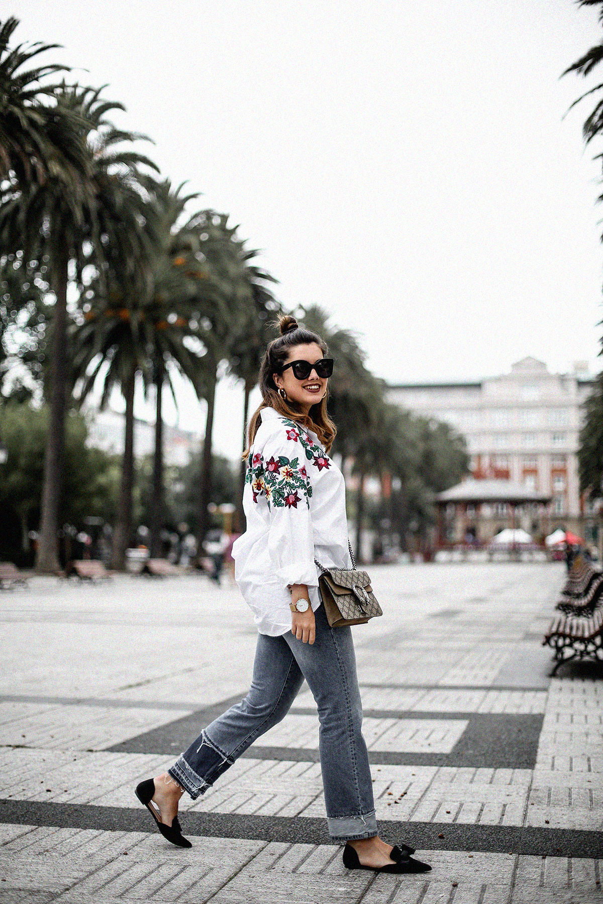 embroidered-white-blouse-bow-flats-hm-gucci-dionysus-streetstyle8