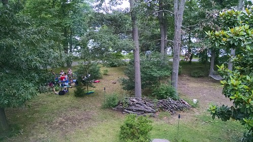 The View From a Friend's Home at Her Fourth of July Party