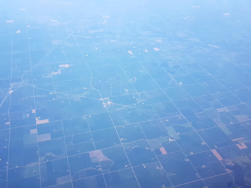 Minnesota view from the plane