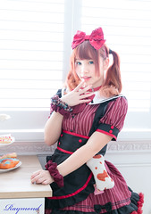 HK maid cafe and Model