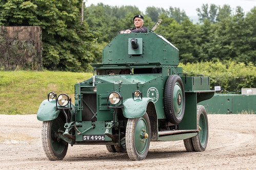 Rolls Royce Mk I armoured car