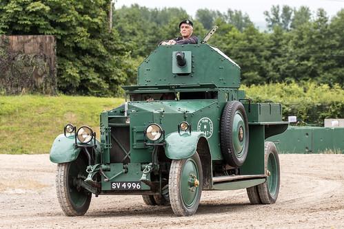 Rolls Royce Mk I armoured car