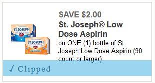 Deals on St. Joseph Aspirin