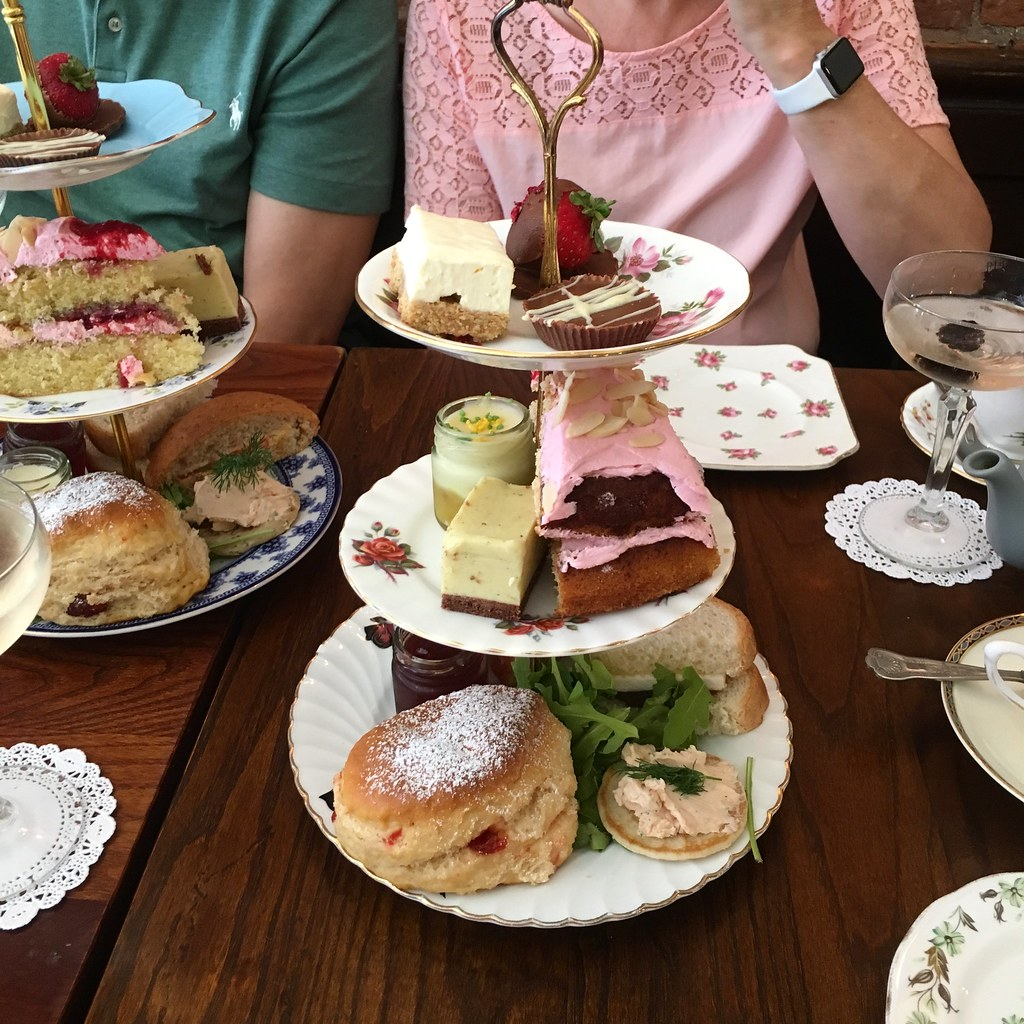 I can't do all of the things - afternoon tea