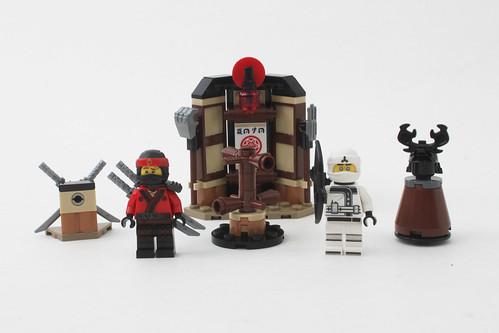 The LEGO Ninjago Movie Spinjitzu Training Dojo (70606)