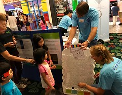 Hawaiian Electric at Kahala Mall's 2017 Keiki Day - July 22, 2017: It's fun to learn and play!