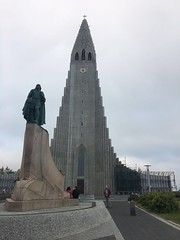 Church in Reykjav�k, Iceland - Hallgr�mskirkja, Lutheran Church