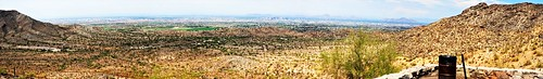 20170728 view phoenix from south mountain city park stitch