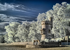 Infrared image of Appley Tower