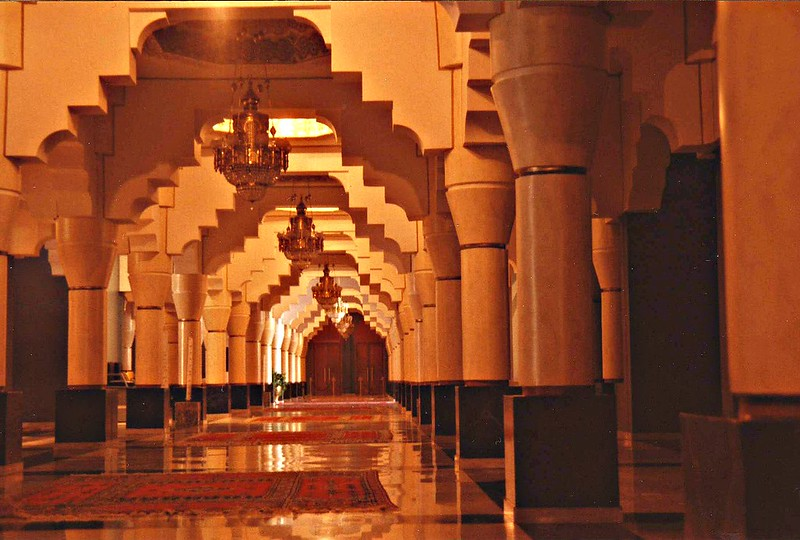 Inside Hotel Mansour Dhabi