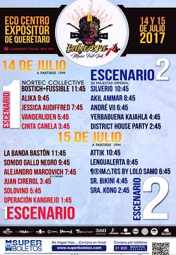 Escenarios Calavera Music Fest Ink
