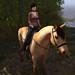 Regina on horse 01