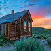 Bodie Ghost Town Sunset by Mimi Ditchie
