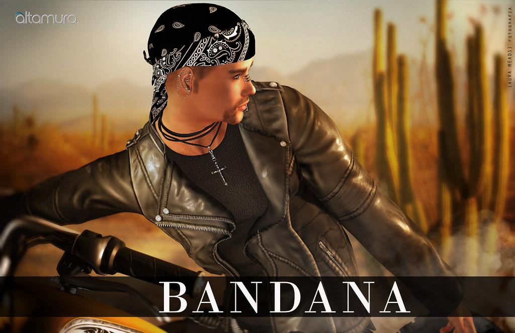 "Altamura: ""Bandana"" Mesh Hat Fatpack - SecondLifeHub.com"