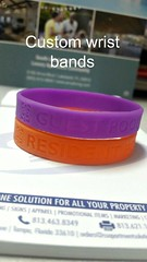 Custom Wrist Bands